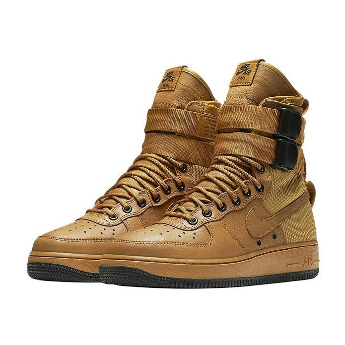 Оригинальные кроссовки Nike Wmns Special Field Air Force 1 Desert Ochre