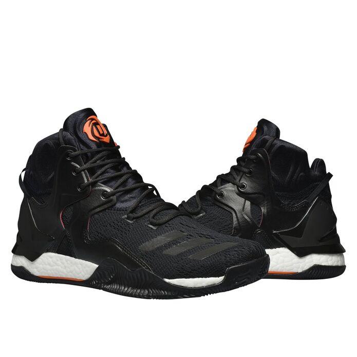 Баскетбольные кроссовки adidas D Rose 7 Primeknit Core Black
