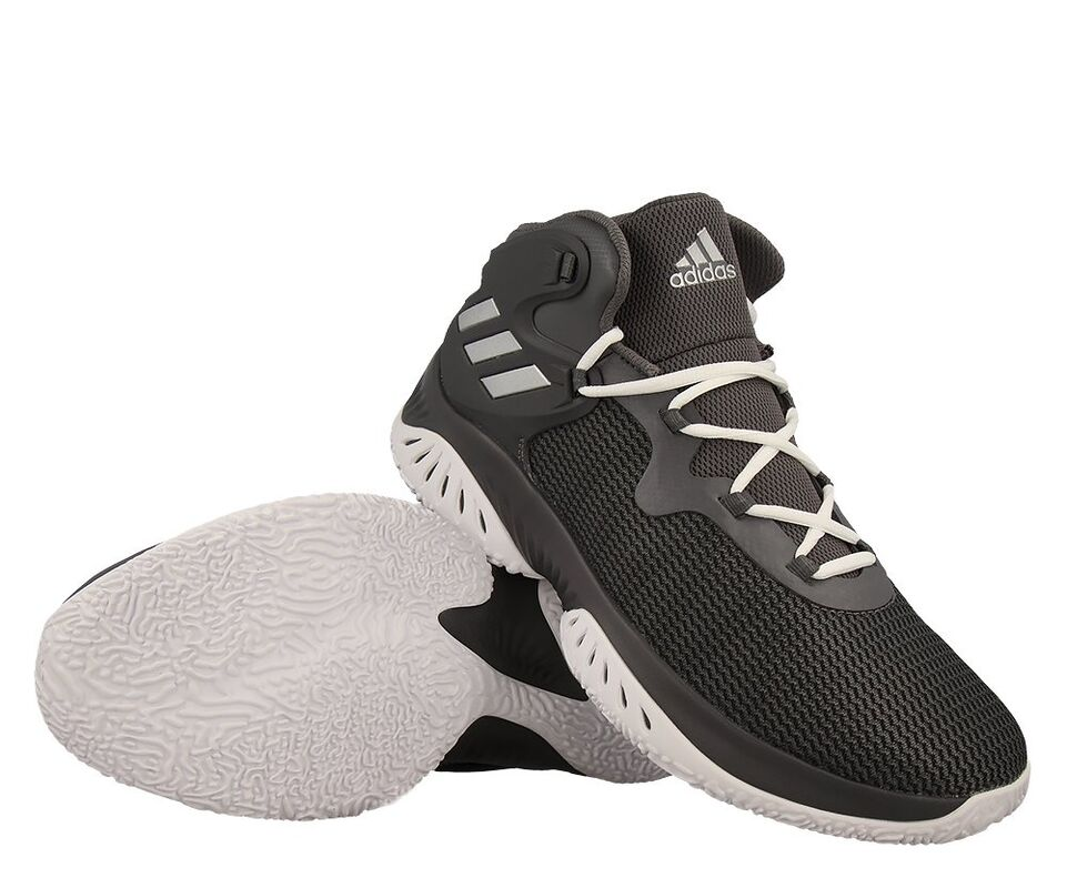 795e8bff Купить баскетбольные кроссовки adidas Explosive Bounce Grey в Минске ...