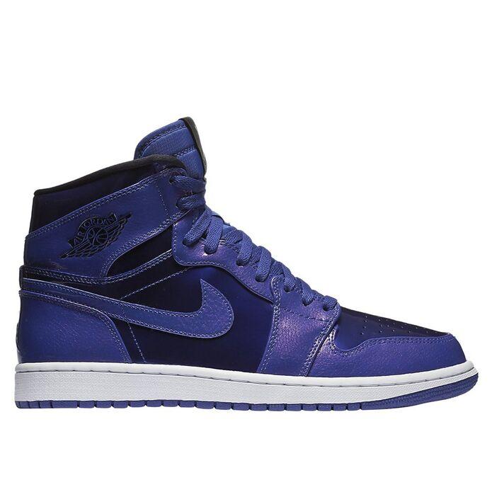 Баскетбольные кроссовки Air Jordan 1 Retro High Deep Royal
