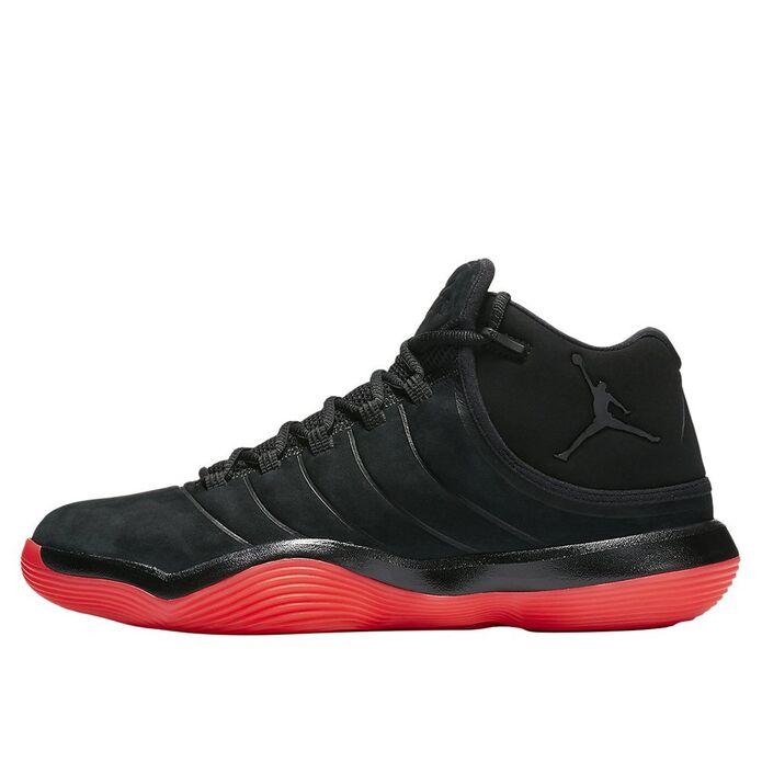 Баскетбольные кроссовки Jordan Super.Fly 2017 Black/Infrared 23