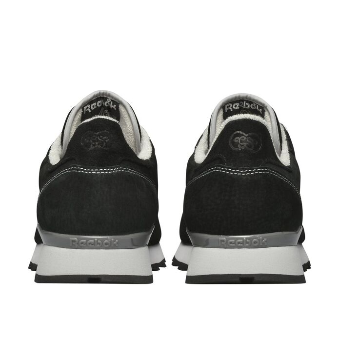 Кроссовки Reebok Classic Leather x Garbstore Black