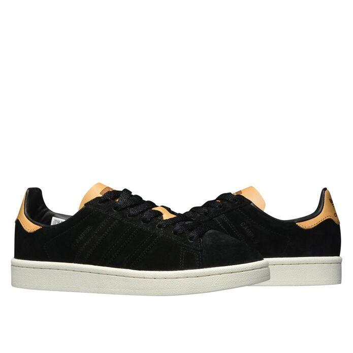 Оригинальные кроссовки adidas Campus Core Black