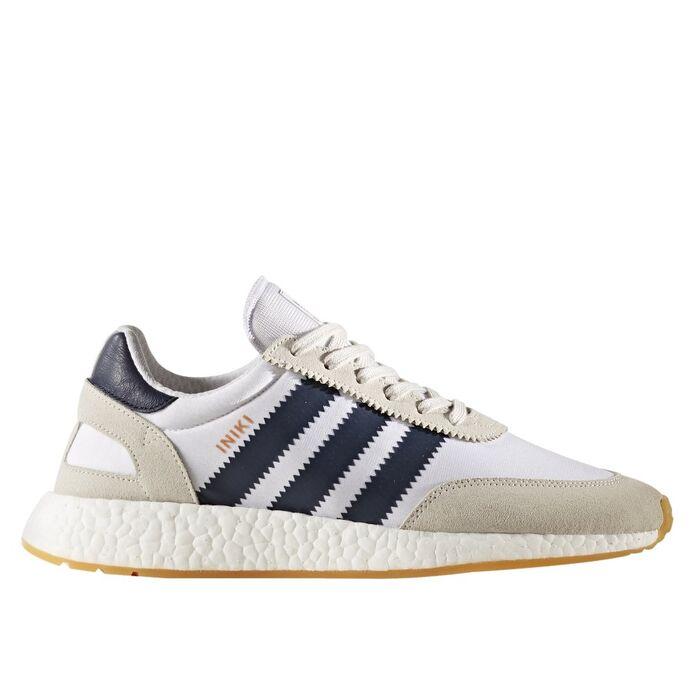 Оригинальные кроссовки adidas Iniki Runner Footwear White/Collegiate Navy