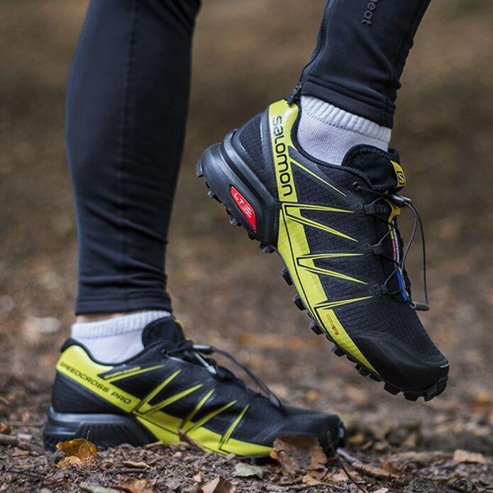 Кроссовки для бега SALOMON SPEEDCROSS PRO Czarne