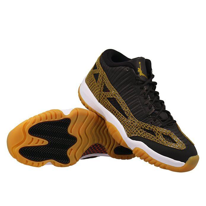 Баскетбольные кроссовки Air Jordan 11 IE Low Snakeskin
