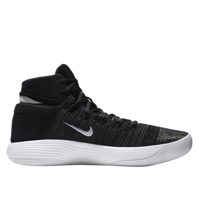 Баскетбольные кроссовки Nike React Hyperdunk 2017 Flyknit Black