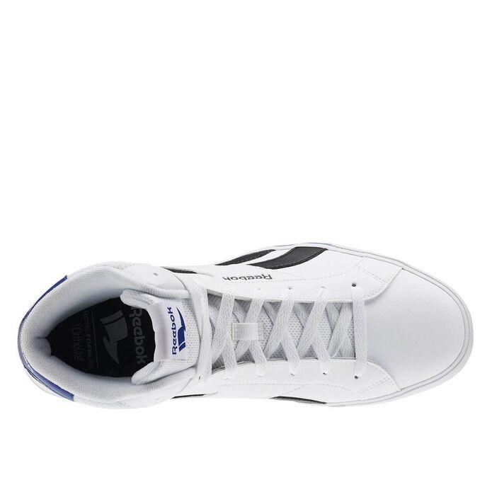 Кроссовки Reebok Royal Comple White / Black / Coll Roy (AR2430)