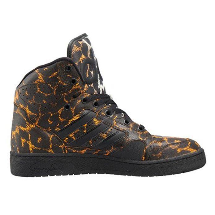 Оригинальные кроссовки adidas x Jeremy Scott Instinct Hi Leopard Printed