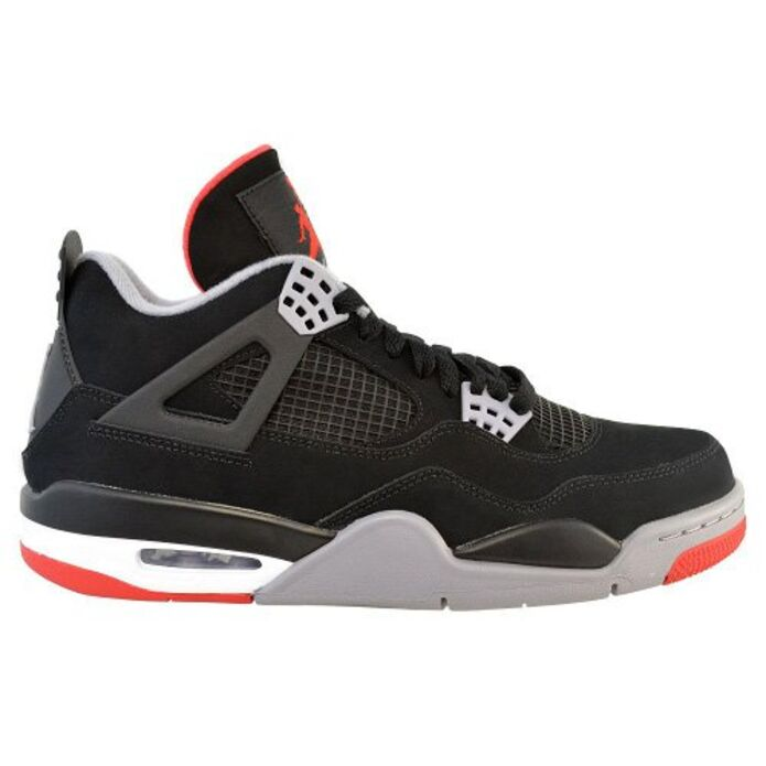 Баскетбольные кроссовки Air Jordan 4 Retro Bred