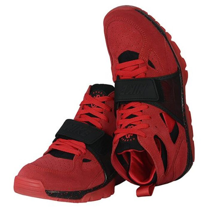 Баскетбольные кроссовки Nike Air Trainer Huarache Premium QS Love/Hate
