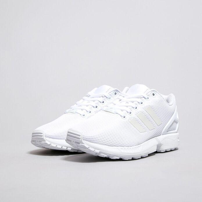 """Оригинальные кроссовки Adidas ZX Flux """"All White"""""""