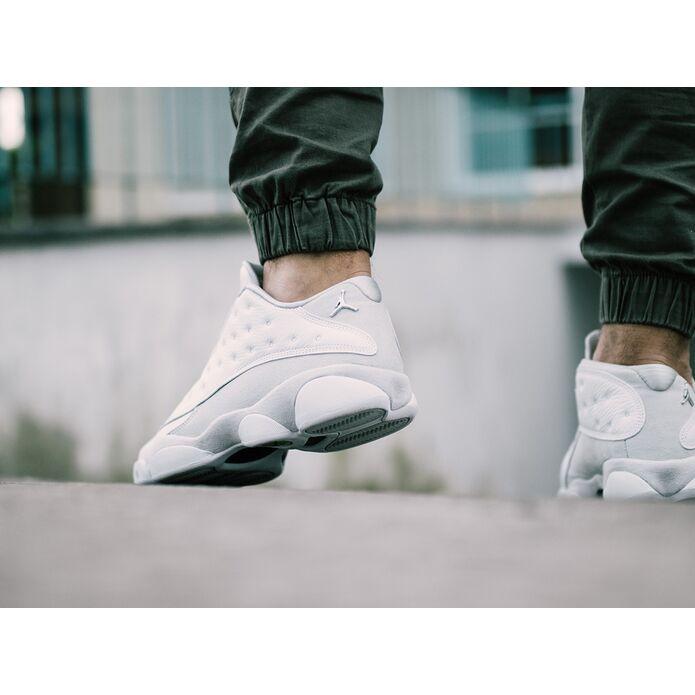 """Air Jordan 13 Low """"Pure Platinum"""" 310810 100"""