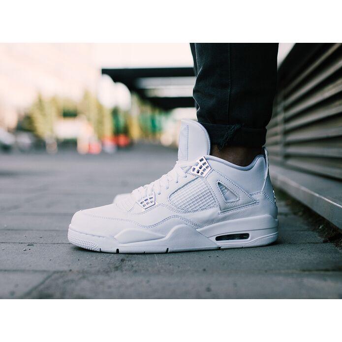 "Air Jordan 4 Retro ""Pure Money"" 308497 100"