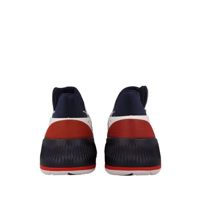 """Баскетбольные кроссовки adidas D Lillard 3 """"White/Navy"""""""