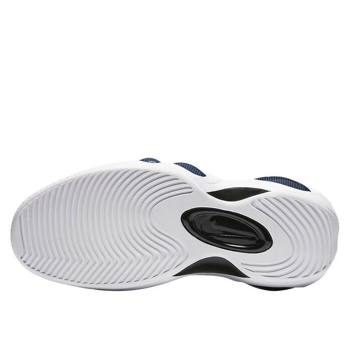 """Баскетбольные кроссовки Nike Zoom Flight Bonafide """"Military Blue"""" (917742-400)"""