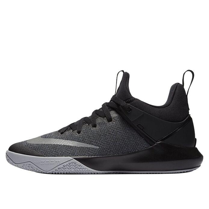 "Баскетбольные кроссовки Nike Zoom Shift ""Black/Wolf Grey"" (897653-002)"