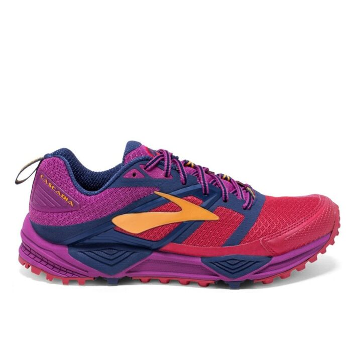 Кроссовки для бега BROOKS CASCADIA 12 Fioletowo-czerwone