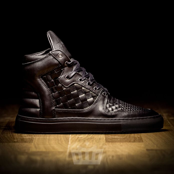 filling pieces high top transformed acp woven black