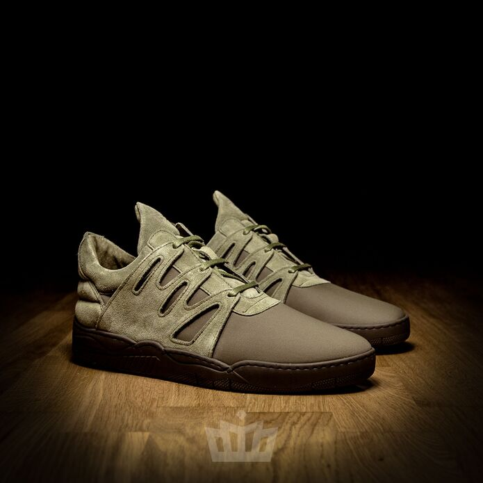 Filling Pieces Low Top Bracket Green