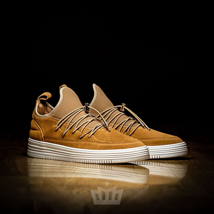 filling pieces low top neo laced mix brown