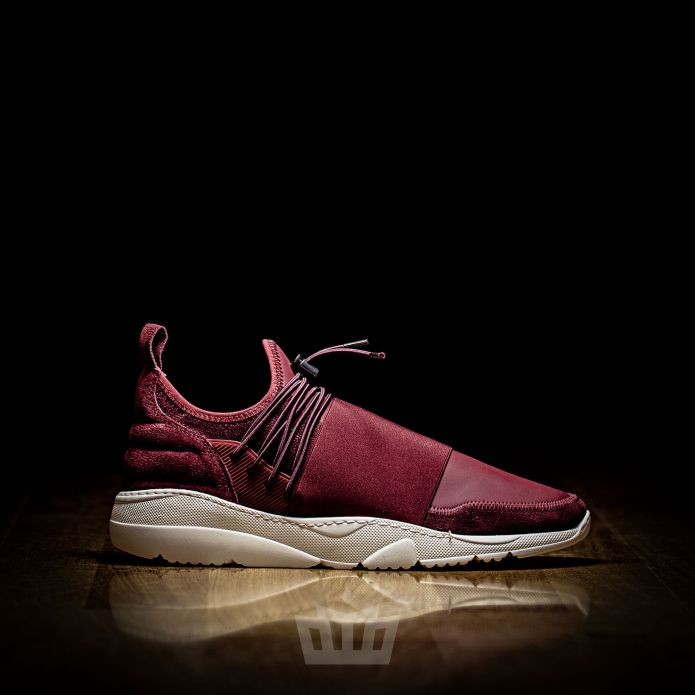 Filling Pieces Runner 3.0 Fuse Low Caviar Maroon