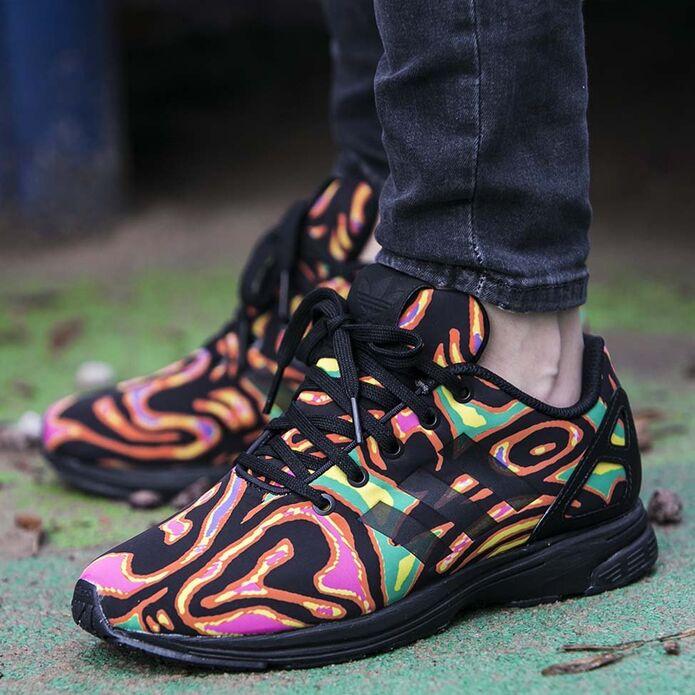 adidas x Jeremy Scott Flux Tech Psychedelic
