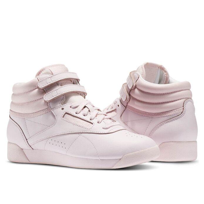 """Reebok Freestyle Hi Color Bomb """"Porcelain Pink"""""""