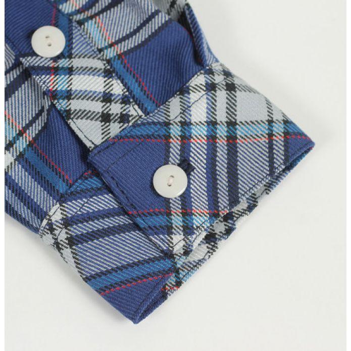 Рубашка Dislabel Foreman navy/grey