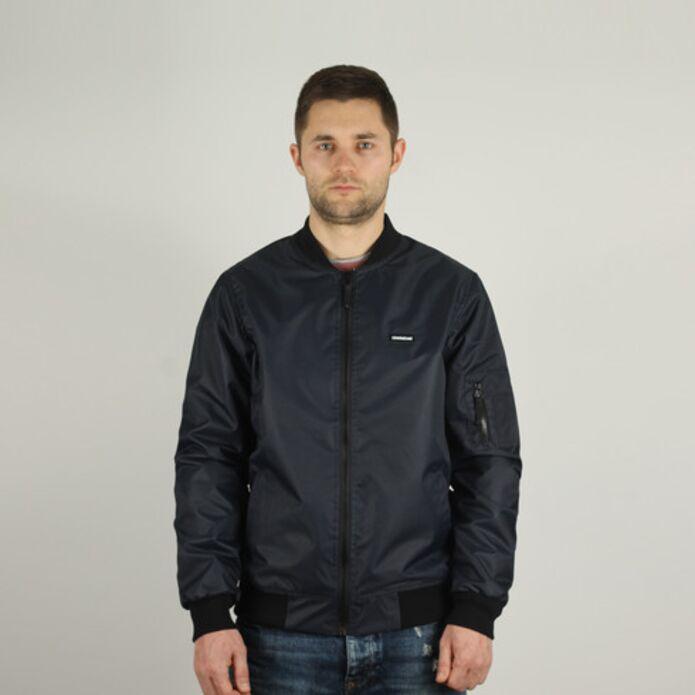Куртка Dislabel Bomber Jacket badge nvy