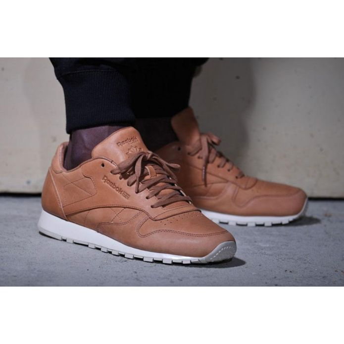 кроссовки Reebok Classic Leather Lux Horween