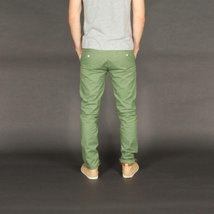 Чинос Dislabel Цвет лесная зелень