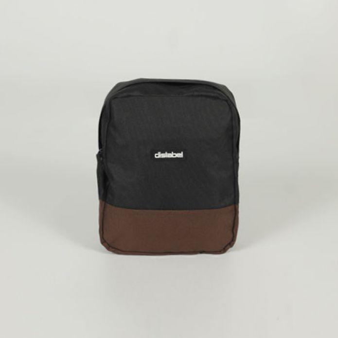 Сумка DISLABEL Flight Bag black/brown
