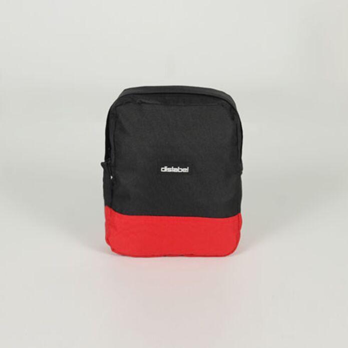 Сумка DISLABEL Flight Bag black/red