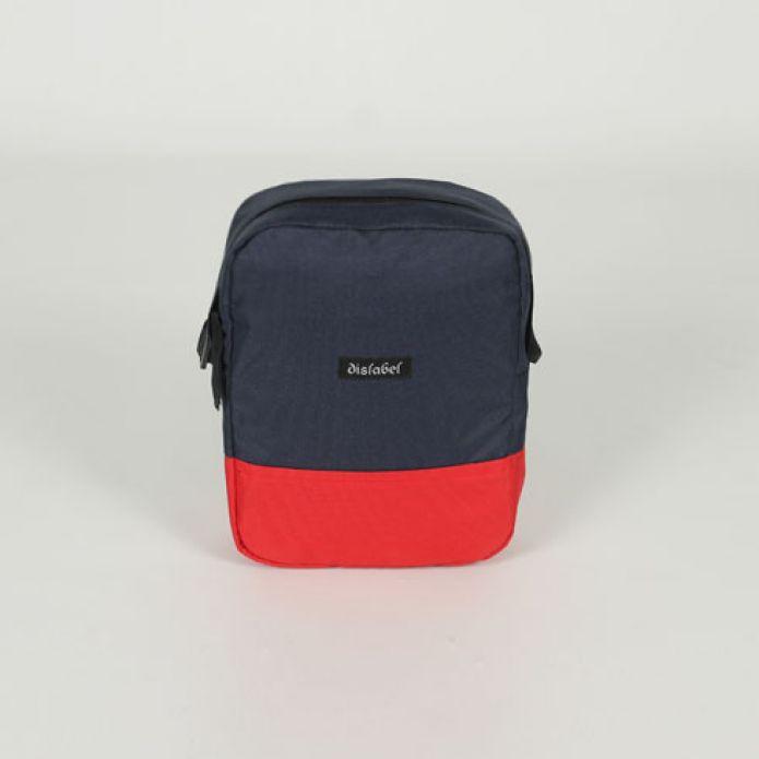 Сумка DISLABEL Flight Bag navy/red