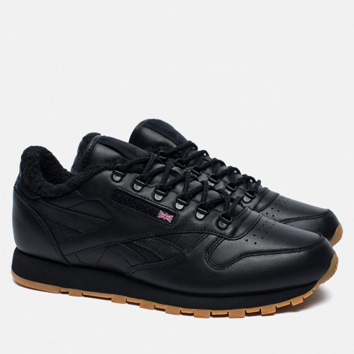 кроссовки Reebok Classic Leather Sherpa