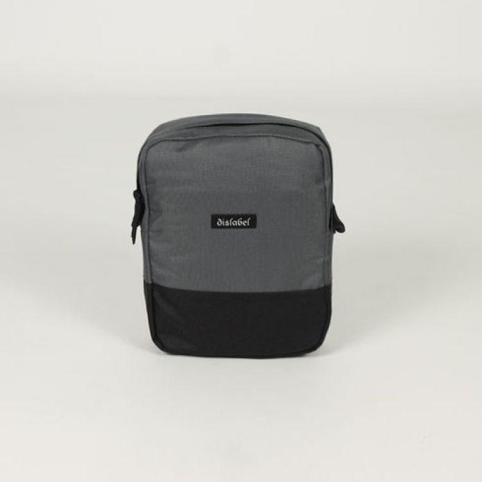 Сумка DISLABEL Flight Bag grey/black