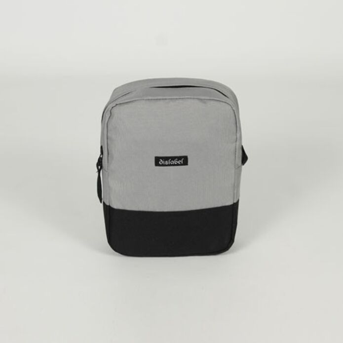 Сумка DISLABEL Flight Bag light grey/black