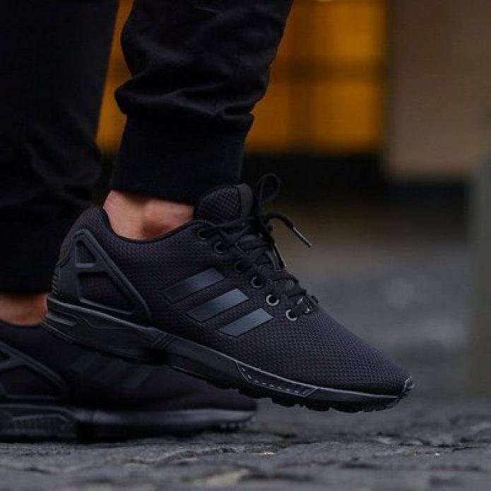 кроссовки Adidas ZX Flux Triple Black