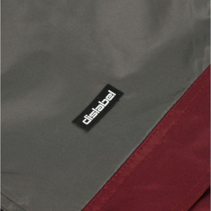 Анорак Dislabel Cover grey/burg