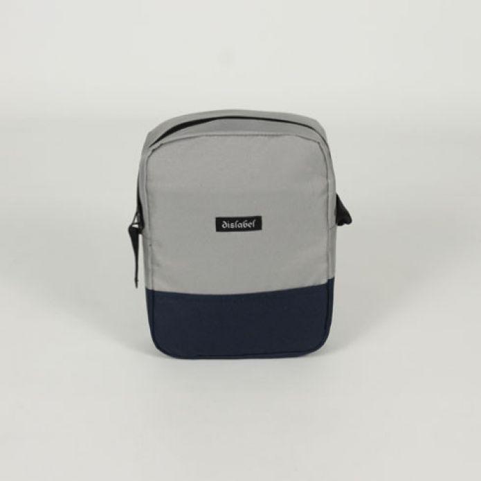 Сумка DISLABEL Flight Bag light grey/navy