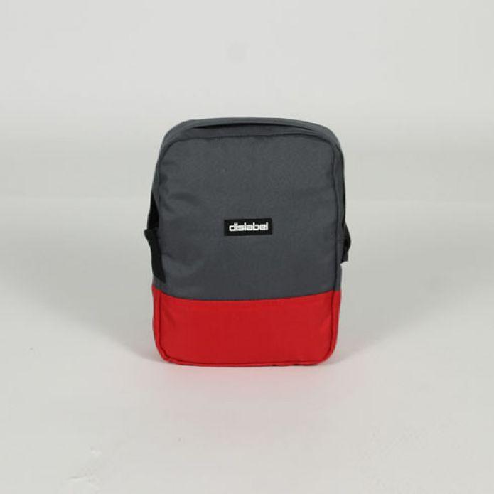 Сумка DISLABEL Flight Bag grey/red