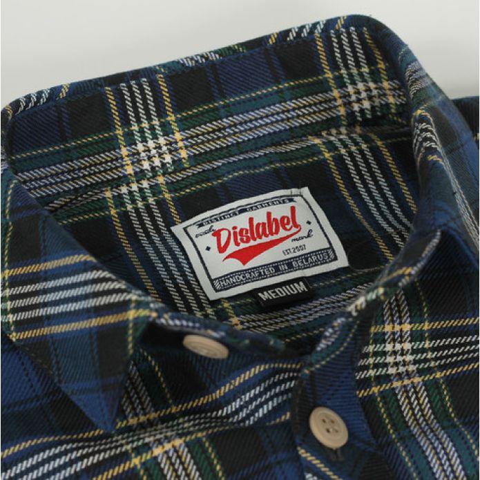 Рубашка DISLABEL ROOKIE NAVY/GREEN